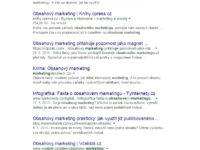 Vyhledávání Obsahový marketing