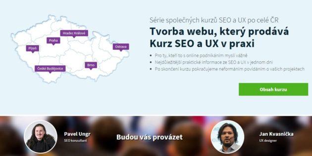 SEOUX - školení SEO a UX v Česku a na Moravě