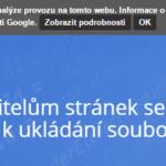 Jak správně na Cookie lištu z pohledu Google