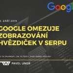 Google mění podmínky pro zobrazování hodnocení (hvězdiček) ve výsledcích hledání
