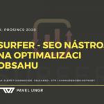 Surfer – SEO nástroj na optimalizaci obsahu